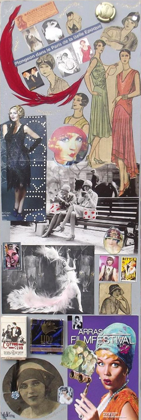 Belle époque, Collage de Kelstena Cre'art
